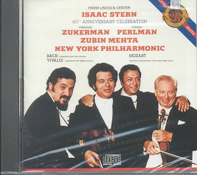 60TH ANNIVERSARY BY STERN,ISSAC (CD)